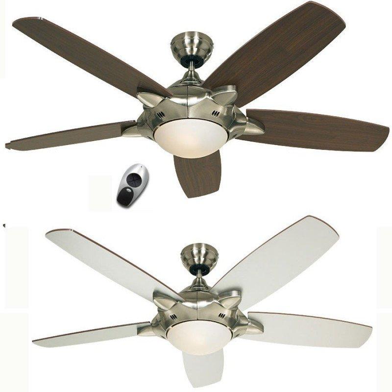 Mercury de casafan un ventilateur moderne quip d 39 un - Ventilateur de plafond silencieux ...