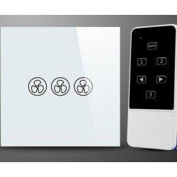 Interrupteur et télécommande pour ventilateur de plafond sans lumière soft ouch