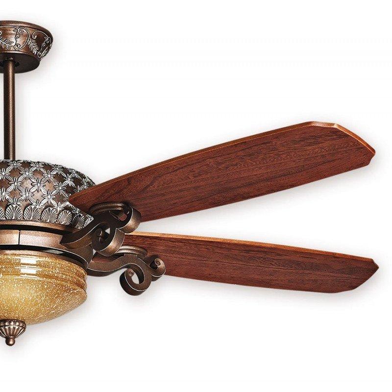 Ventilateur de plafond Bronze, Simoune, une merveille de style classique innégalable. KlassFan