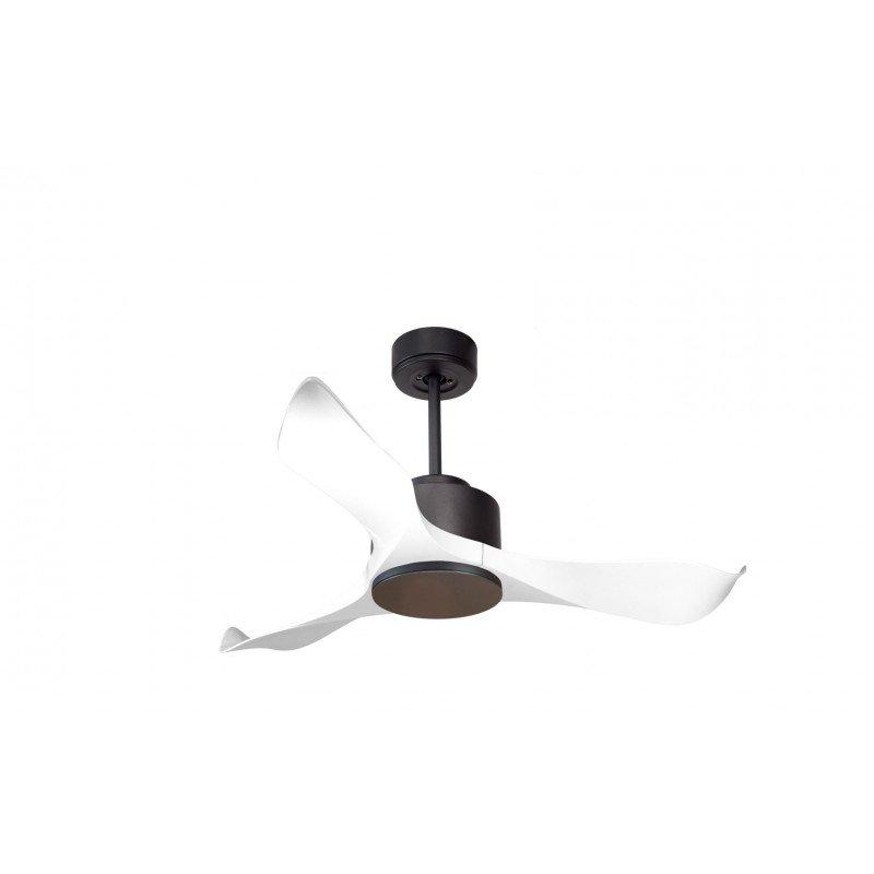 Modulo de KlassFan - Ventilateur DC de plafond sans Lumière gris et blanc idéal pour 20 à 30 m² ultra efficace
